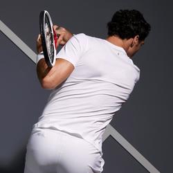T-shirt voor tennis heren Light 900 wit/geel