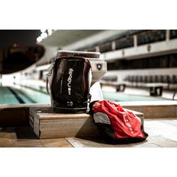 Rugzak zwemsport 40 liter 900 zwart/grijs