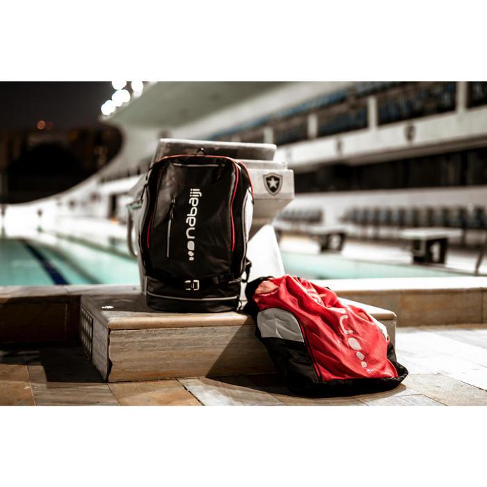 Zwemzak Mesh 900 zwart/rood