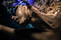 Lunettes de natation 900 suédoises verres clairs - noir jaune
