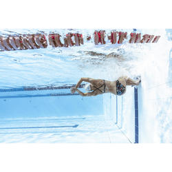 Uiterst chloorbestendig zwemtopje voor dames Jana rocki zwart