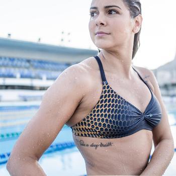 Sportbikini Hose Jana Damen blau