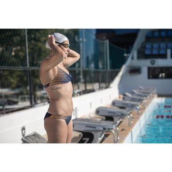 Sportbikini Oberteil Jana Gani ultrachlorresistent Damen blau