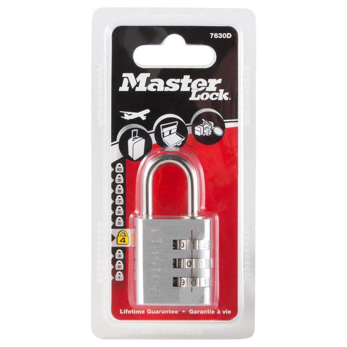 Candado Código Viaje Travesía Master Lock 30 MM Plata