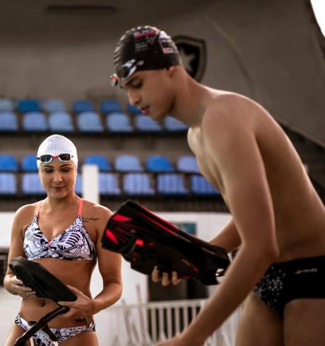 zwemmen spieren trainen