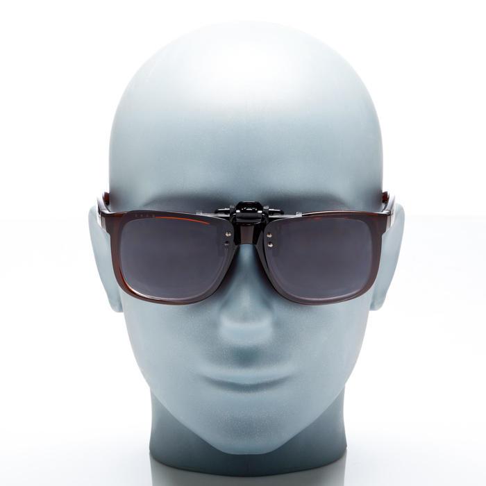 Clip adaptable sur lunettes de vue CLIP 120 L polarisant catégorie 3 - 158002