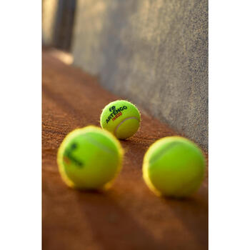 TB930 Competition Tennis Balls 4-Pack - Yellow
