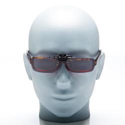 Polariserende zonneclip Vision 300 voor bril op sterkte, categorie 3 - 158005