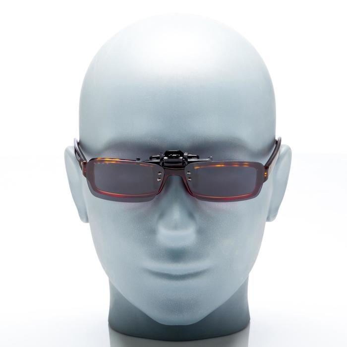Clip adaptable sur lunettes de vue CLIP 120 L polarisant catégorie 3 - 158005