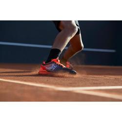 Tennisschuhe TS590 Sandplatz Herren schwarz/orange
