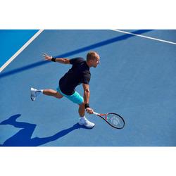 Tennisshirt voor heren Light 900 zwart/blauw/turkoois