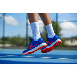 Chaussures de Tennis Homme TS190 Bleu Orange Multi Court