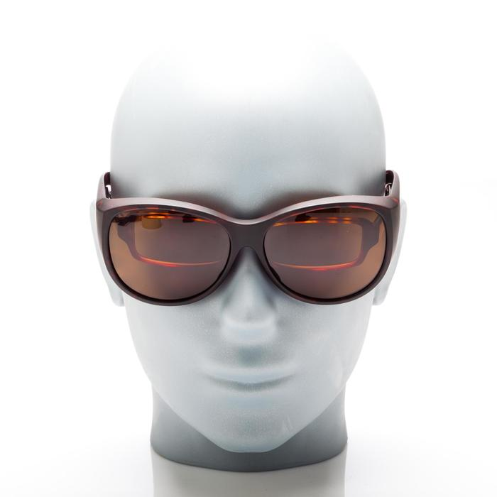 Sur-lunettes COVER 500 W marron verres polarisants catégorie 3 - 158012