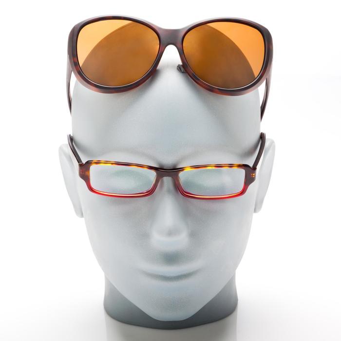Sur-lunettes COVER 500 W marron verres polarisants catégorie 3 - 158014