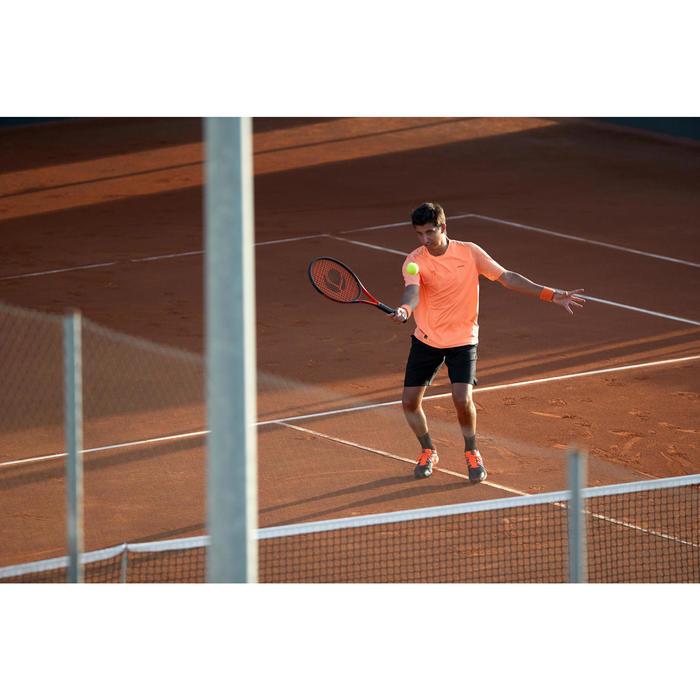 T SHIRT DE TENNIS HOMME DRY 500 CORAIL