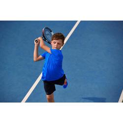"""Tennisschläger TR 990 Kinder 26"""" besaitet schwarz/orange"""