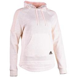 Sweat Adidas 500 capuche Gym Stretching femme rose