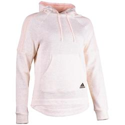 Kapuzensweatshirt 500 Gym Stretching Damen rosa