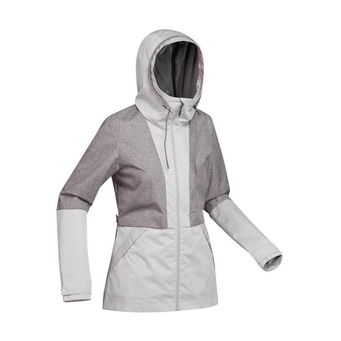 Jacke Travel 100 Compact Damen grau