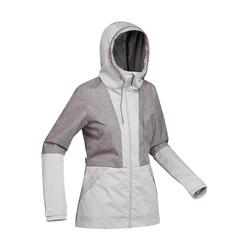 Travel100 Compact Women's Trekking Jacket - Grey