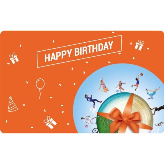 HAPPY BIRTHDAY E gift card