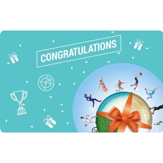 Congratulations E Gift Card