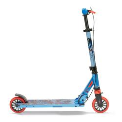 Kinder-Roller Scooter MID5 mit Federung Lenkerbremse mit Superhelden-Motiv