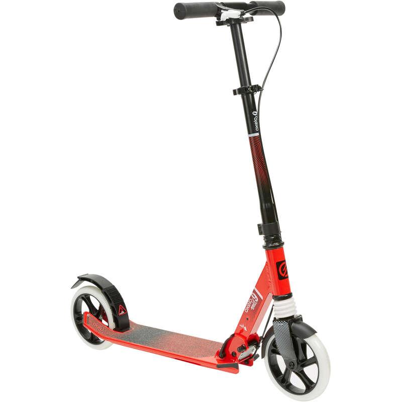 Çocuk scooterları EKİPMANLAR - MID 9 SCOOTER OXELO - Çocuk Scooterlar ve Aksesuarları