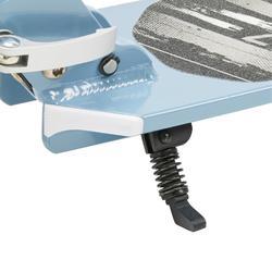 Step SC Mid 7 grijs/blauw/wit met staander