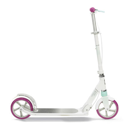 MID 9 Scooter - White/Purple