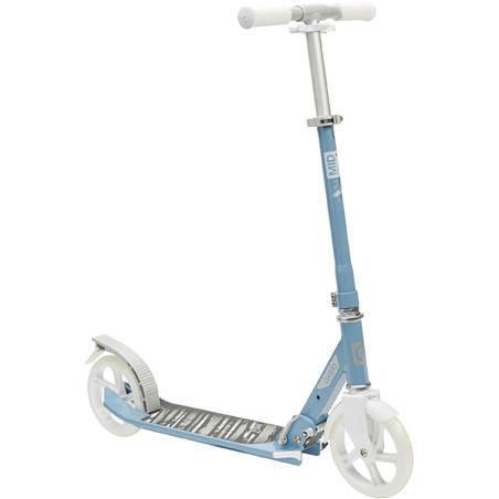 Scooter Mid 7 With Stand - Grey/Blue/White