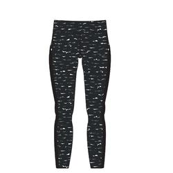 7/8-Leggings 520 Slim Gym & Pilates Damen dunkelgrau
