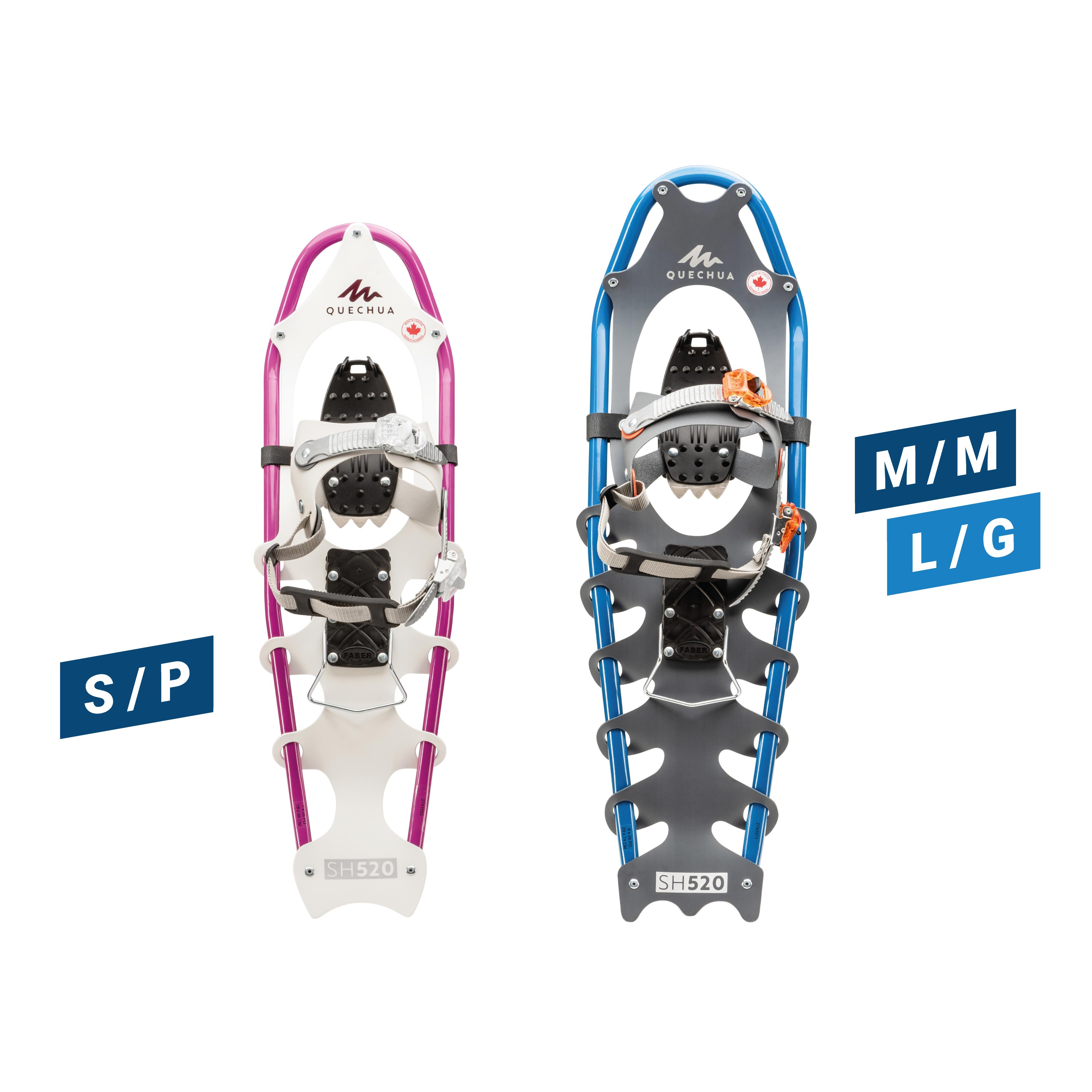SH520 Snowshoes - Blue or Pink