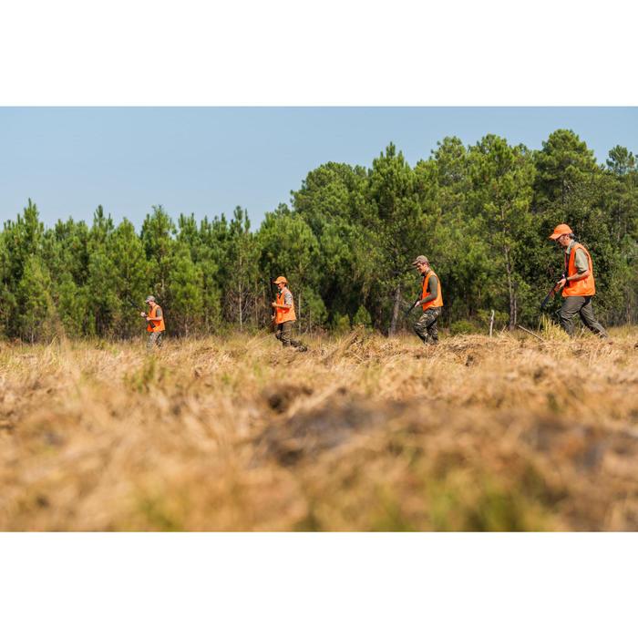 Lichte jagersbroek 100 camouflage woodland groen