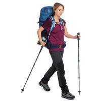 Trek 500 Mountain Trekking Merino T-Shirt Purple - Women's
