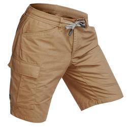 Men's Travel Shorts Travel100 - Khaki