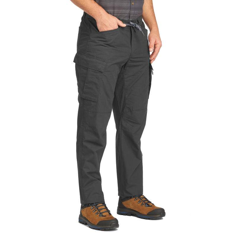 Men's Travel Trousers Travel100 - Grey