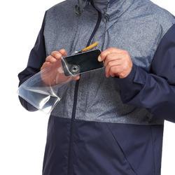 Travel 100 Compact Men's Trekking Jacket - Blue