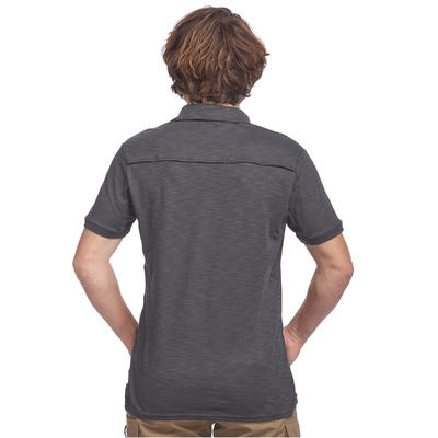 Polo manches courtes trekking TRAVEL 100 Homme girs