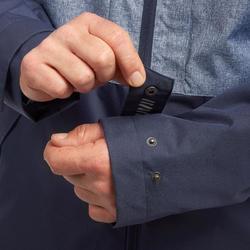 Travel 100 Compact Men's Trekking Jacket - Blue