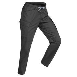 Pantalon randonnée VOYAGE100 homme gris