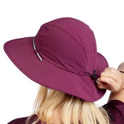 Sombrero Trekking Montaña Forclaz Trek 500 Mujer Anti-UV Violeta