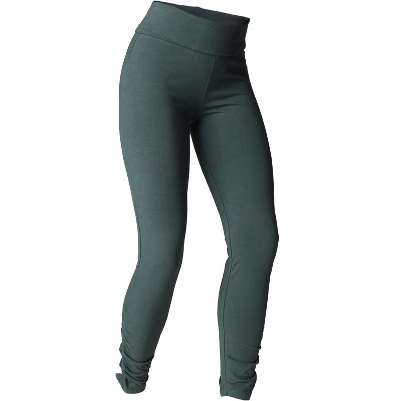 76a55bdb4a All Sports>Yoga>Yoga Women Clothing>Yoga Women Pants and Leggings>Women's  Organic Cotton Gentle Yoga Leggings - Dark Green