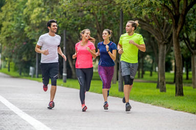 sport à impact et digestion