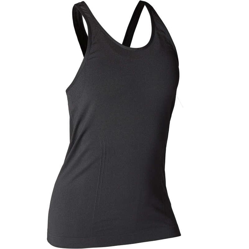 Bayan ince wellness kıyafetleri GİYİM - DİKİŞSİZ YOGA SPORCU ATLETİ  DOMYOS - GİYİM
