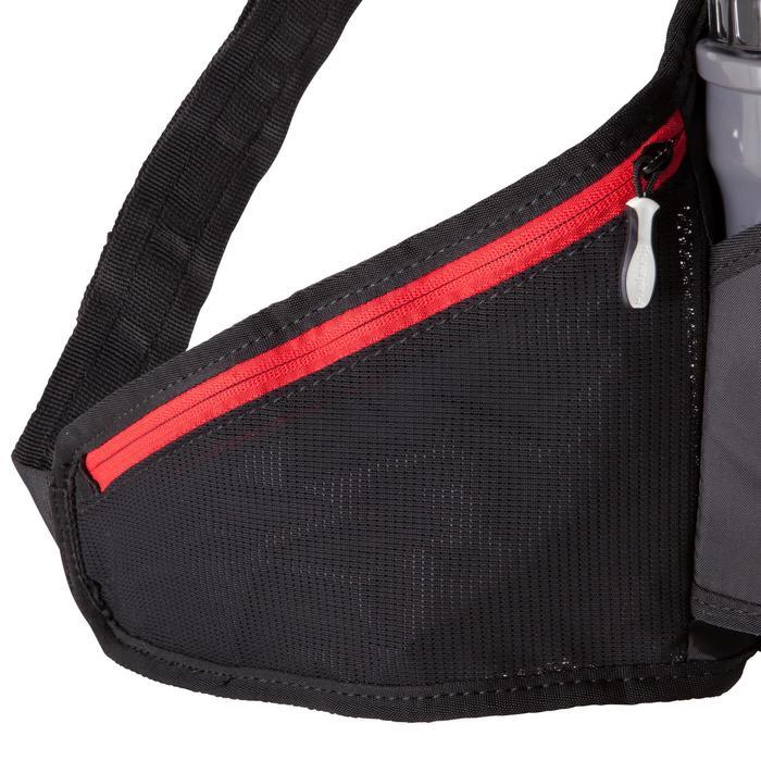 跑步水壺帶 1x500ML-黑紅色