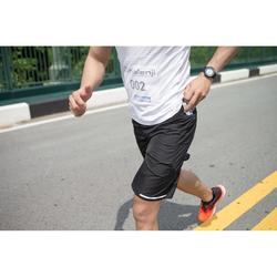 Laufshorts Marathon Herren schwarz