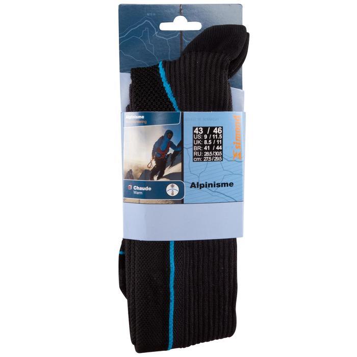 Skisocken Alpinism Wandersocken schwarz