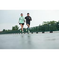 Lauf-Regenjacke wasserdicht Kiprun Light Herren schwarz
