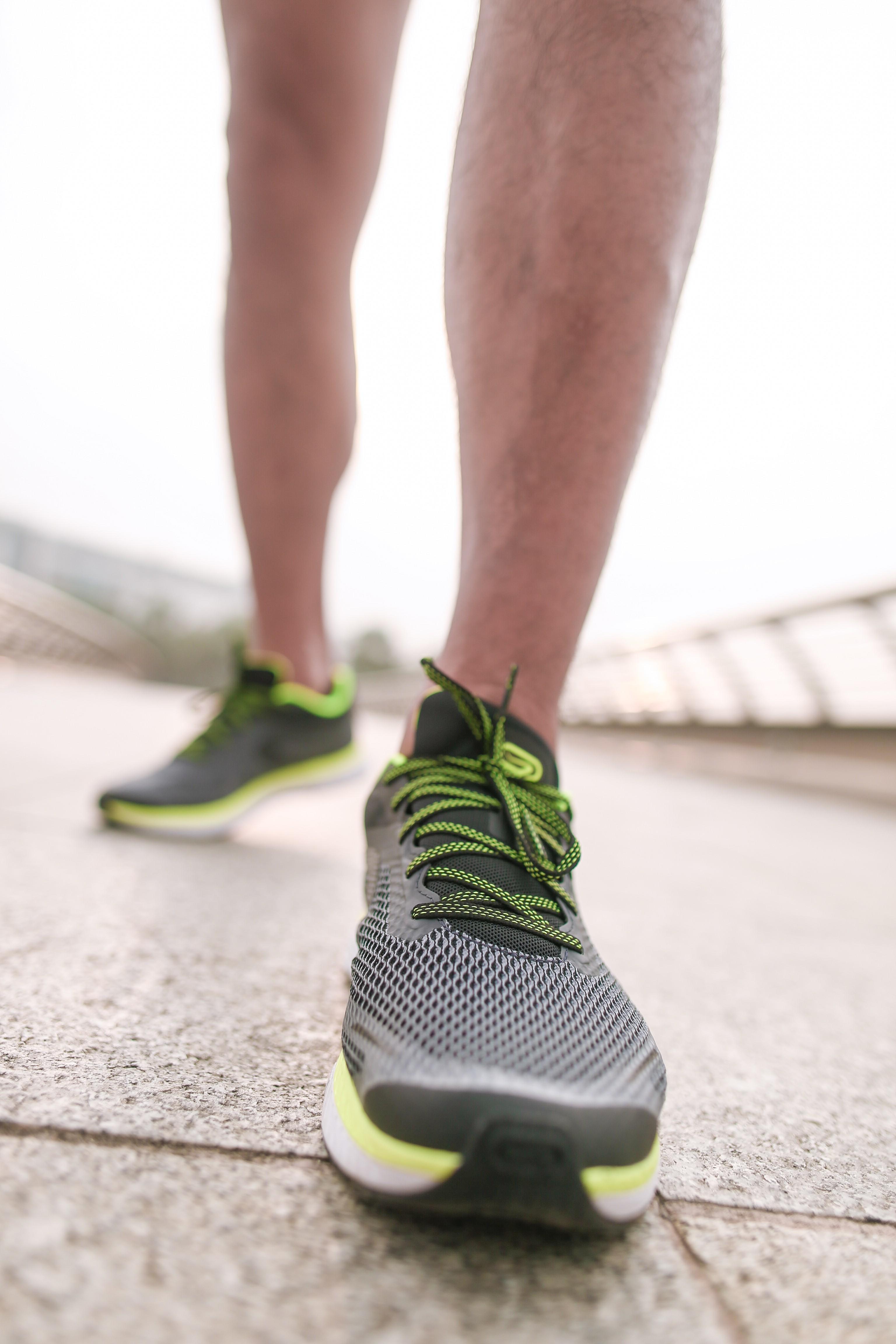 Kiprun Fast Men's Running Shoes - Grey Yellow